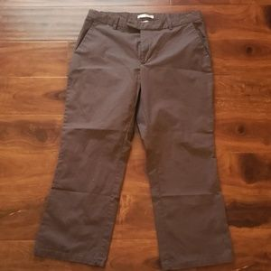 Old navy brown stretch women's pants